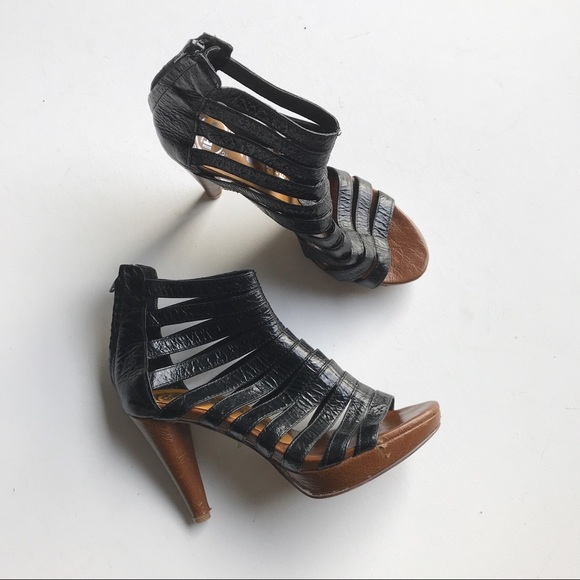 Jeffrey Campbell Shoes - Jeffrey Campbell Ibiza Marley Heels Caged